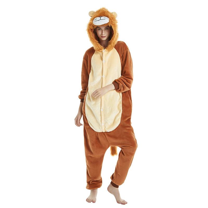 Pijama de León Real Kigurumi