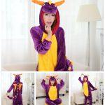 Disfraz de Spyro el dragón Unisex