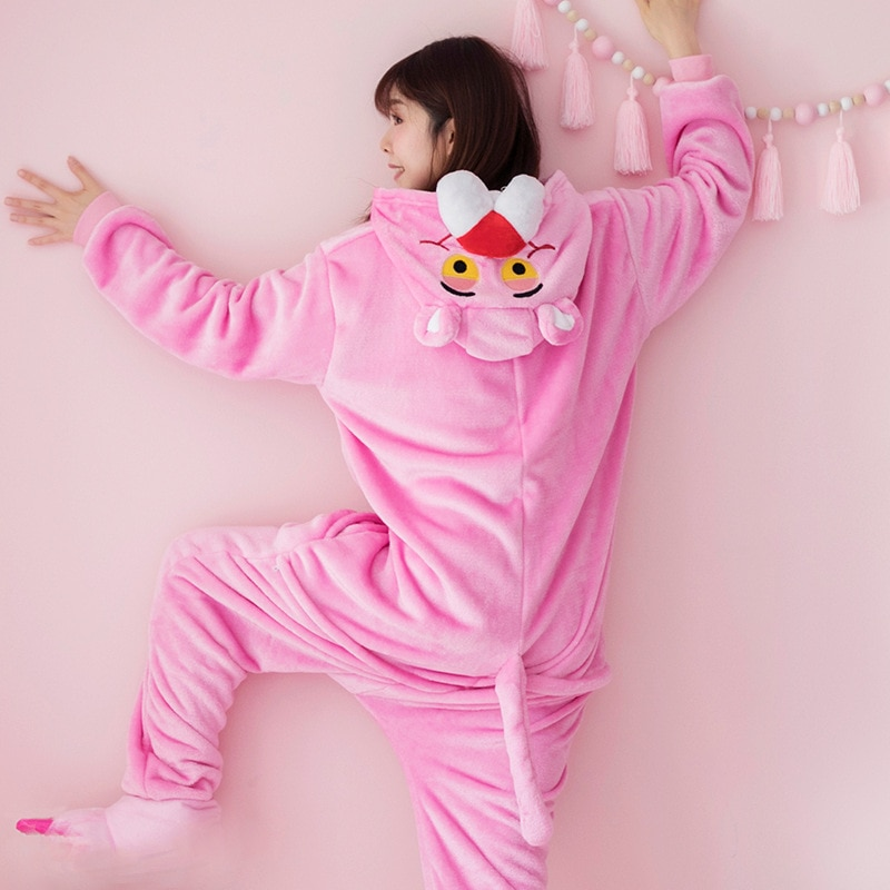 Pijama de la Pantera Rosa Kigurumi