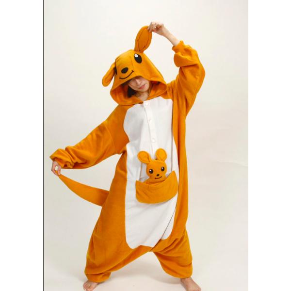pijama disfraz kigurumi de canguro adultos niños