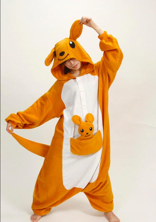 Pijama de Canguro kigurumi