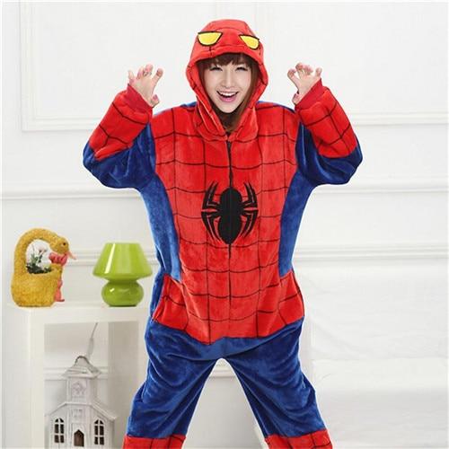 Pijama de Spiderman Kigurumi