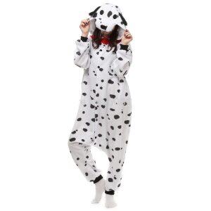 Pijama de dálmata kigurumi