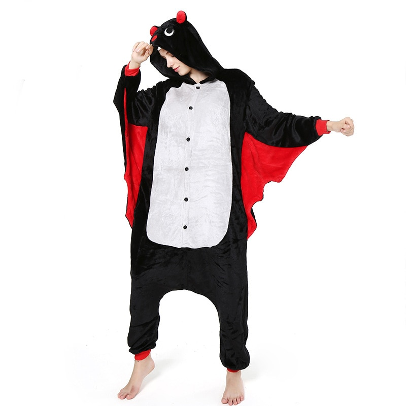 Pijama de murciélago kigurumi