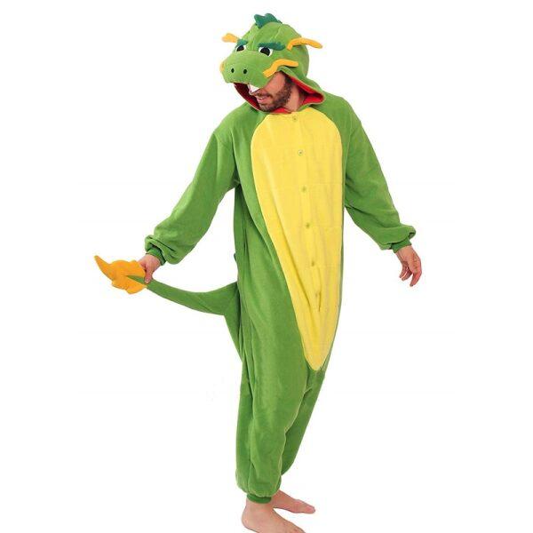 disfraz de dragon chulo