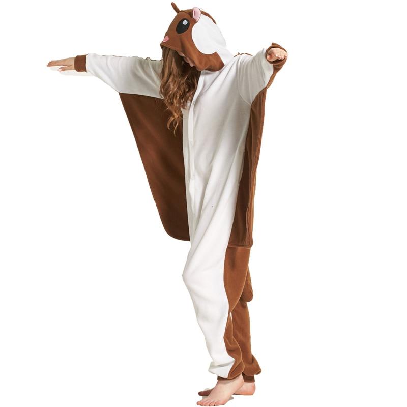 Pijama de Ardilla voladora kigurumi