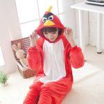 Pijama de Angry Birds Kigurumi