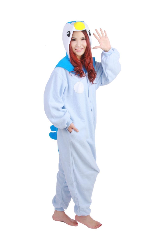 Pijama de pokémon Piplup Kigurumi