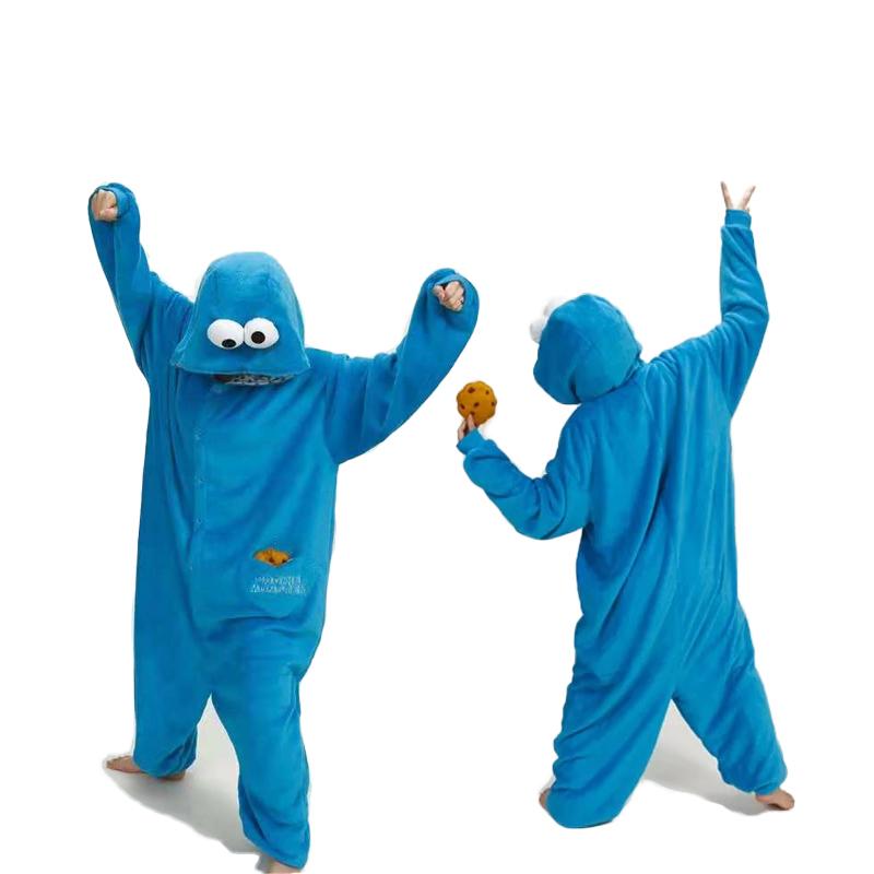 Pijama del Monstruo de las Galletas Kigurumi