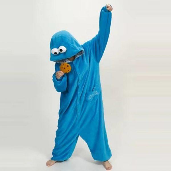esquijama del monstruo de las galletas cosplay