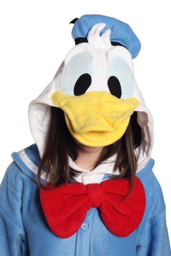 disfraz del pato donald
