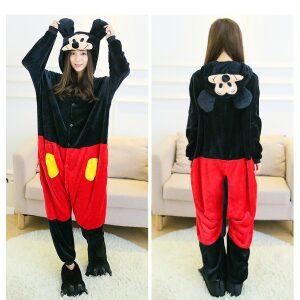 Pijama de Mickey Mouse kigurumi