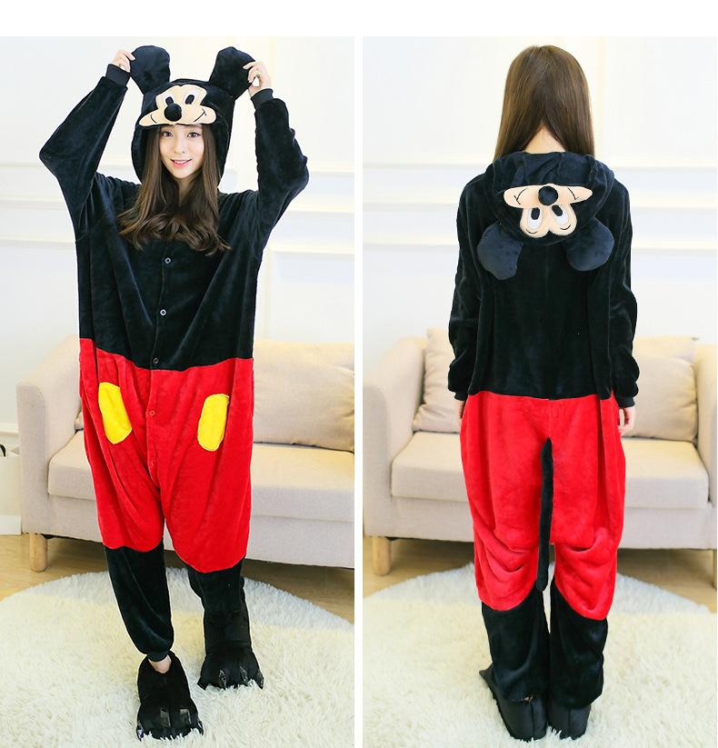 Pijama de Mickey Mouse kigurumi para niños