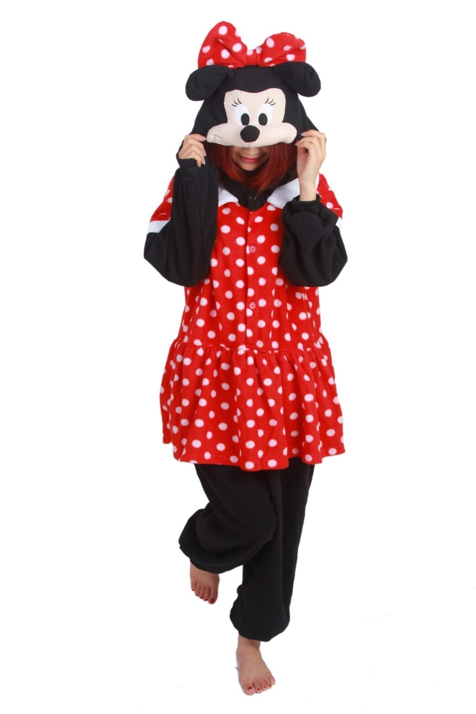 Pijama de Minnie Mouse Kigurumi