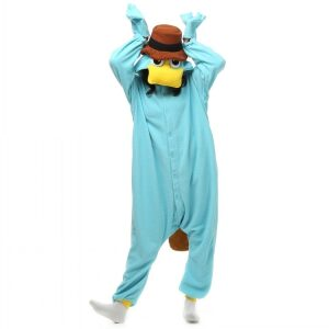 Pijama de Perry el Ornitorrinco Kigurumi