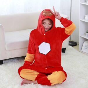 Pijama de Ironman Kigurumi