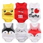 Pijama de verano para bebés 100% algodón