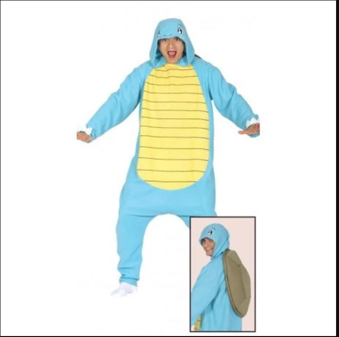 Pijama de Squirtle Kigurumi de Pokémon