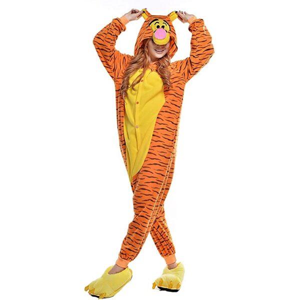 esquijamade tiger de winnie the pooh