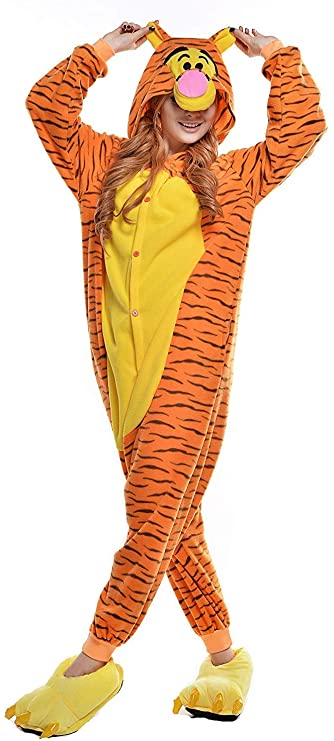 Kigurumi de Tiger Disfraz de Winnie the Pooh