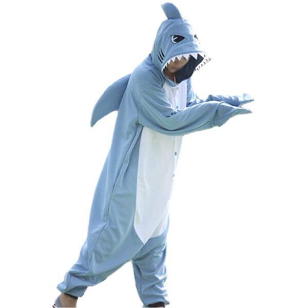 kigurumi de tiburón
