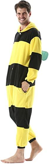 pijama de cuerpo entero avispa