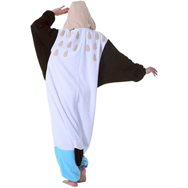 pijama de cuerpo entero de pajaro