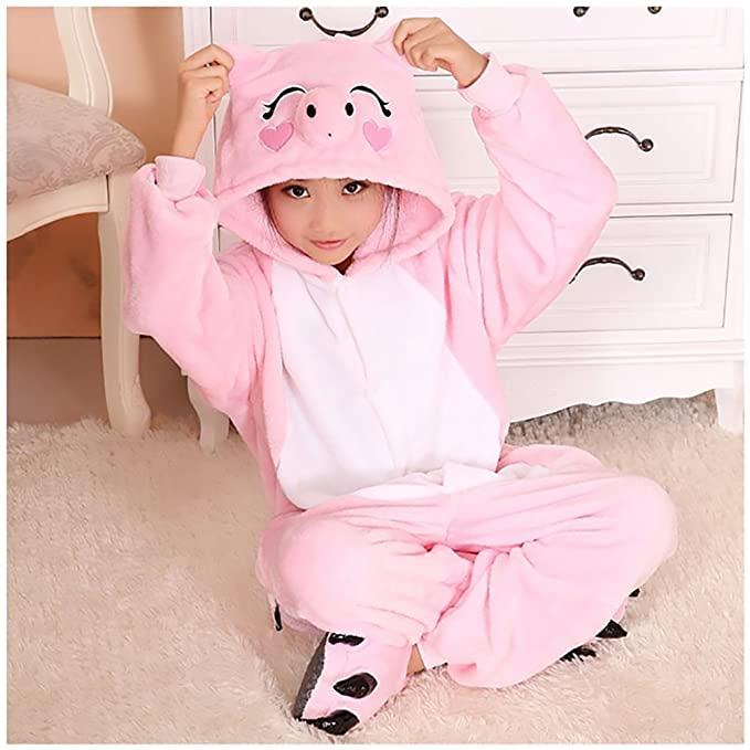 Pijama de cuerpo completo Peppa Pig Kigurumi Niños