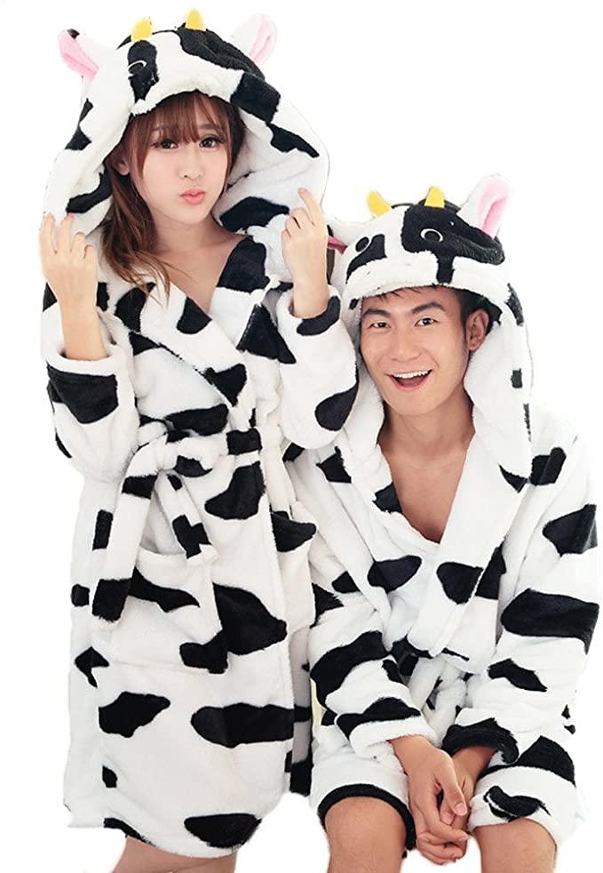 Bata Kigurumi de Vaca