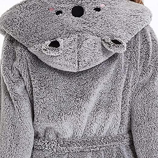 Bata con capucha de Koala